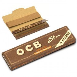 OCB unbleached slim + filter